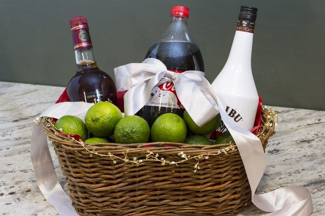 Liquor Gift Basket Ideas | eHow