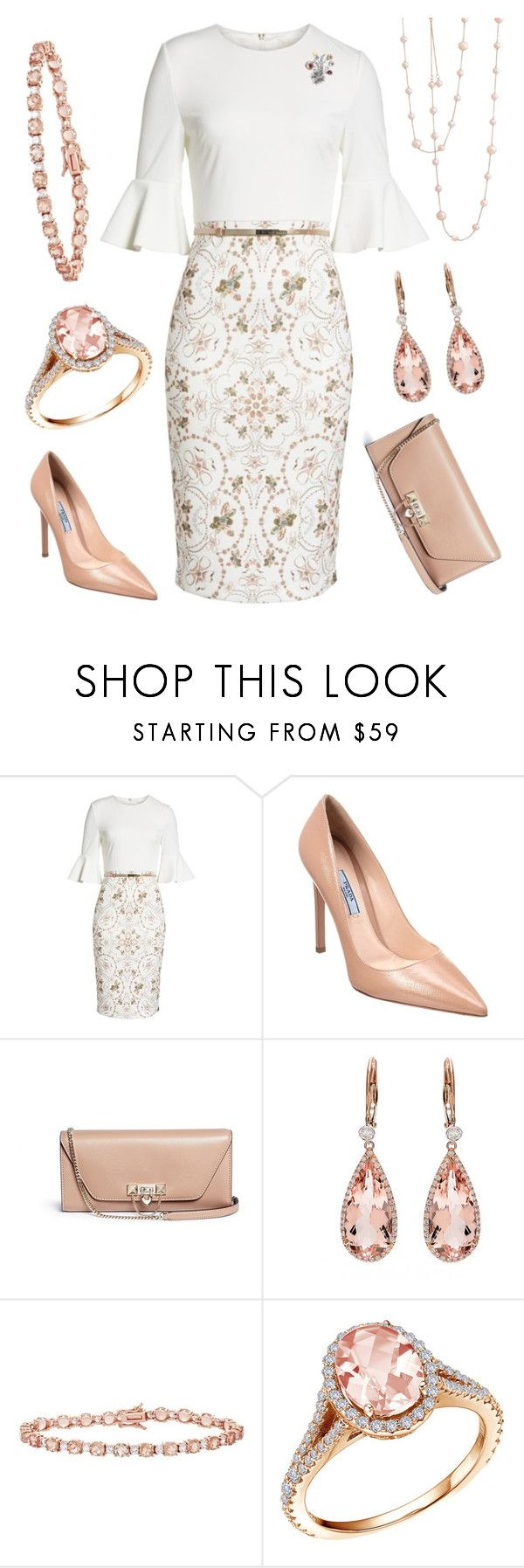 Holding General Audiences by nmccullough on Polyvore featuring Ted Baker, Prada, Valentino and Lafonn