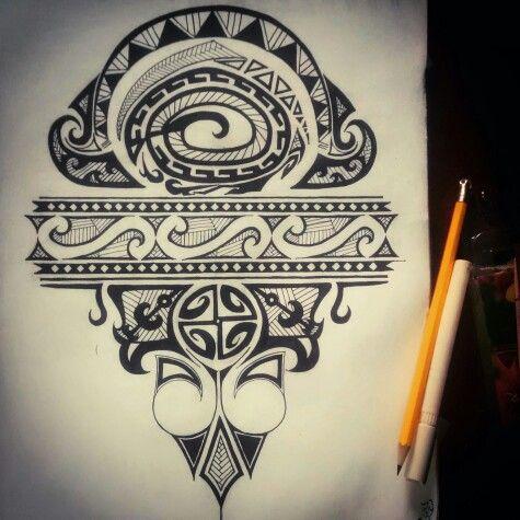 Maori tattoo, tribal, ink