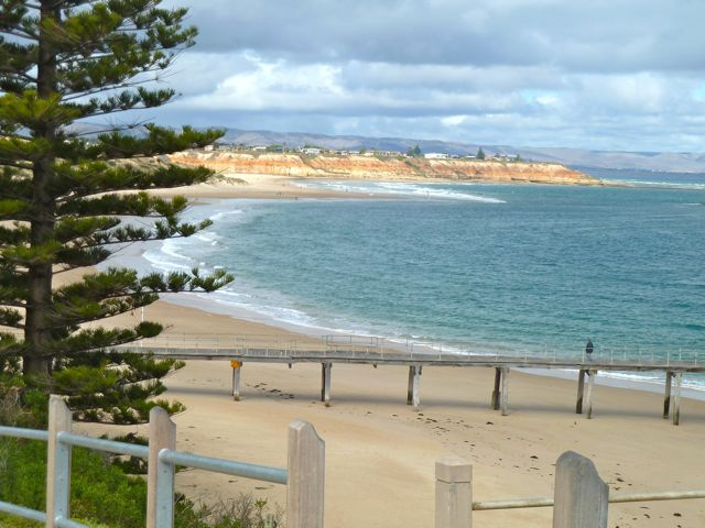 Port Noarlunga, looking to Southport Beach, South Australia