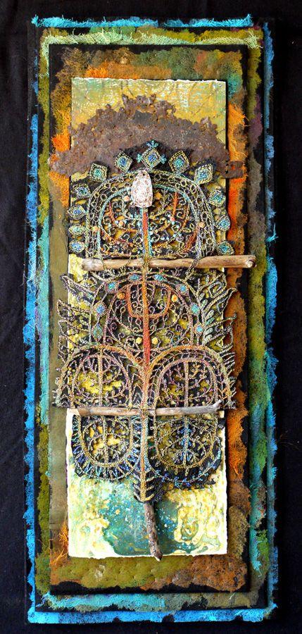 Gordana Brelih | Toronto, Ontario, Canada | Weekly Artist Fibre Interviews | Fibre Art | International | Canadian | World of Threads Festival | Contemporary Fiber Art Craft Textiles | Oakville Ontario Canada ****
