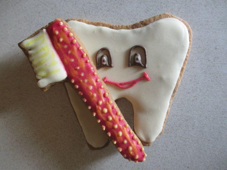 подарунок стоматологу.Пряник.