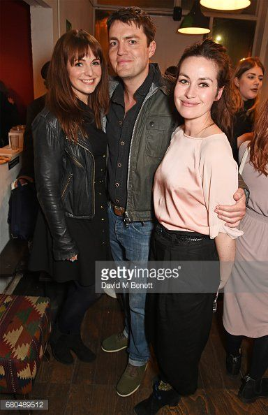 Maimie McCoy Tom Burke and Tamla Kari at the press night after party for 'A Lie Of The Mind' at The Southwark Playhouse on May 8, 2017 in London.  Credits: Getty Images
