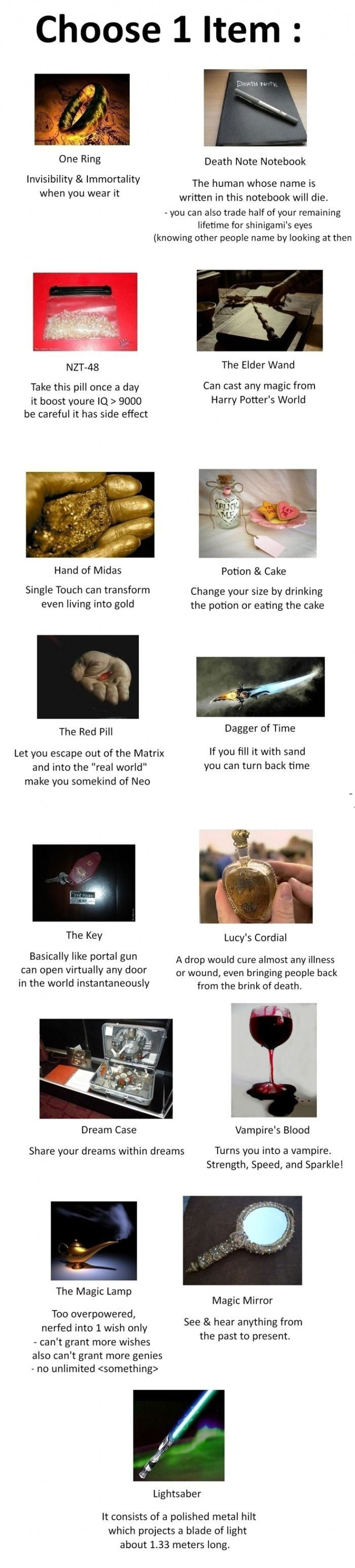 I'm between the Death Note and the Elder Wand