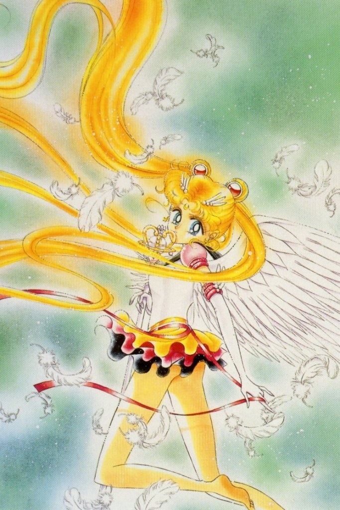 mangaeternal sailor moon was so much more elegant and