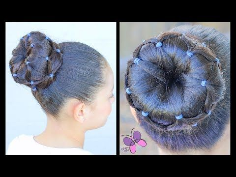 Dona con Ligas | Peinados para Niñas | Peinados para el Colegio | Chikas Chic - YouTube