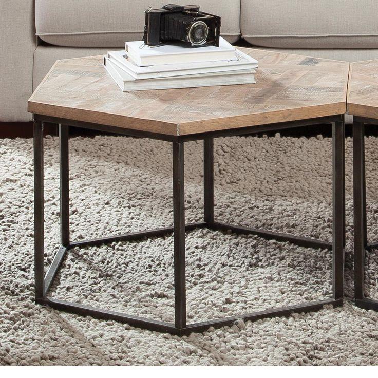 Nice Riverside Furniture Thornhill Hexagon Coffee Table