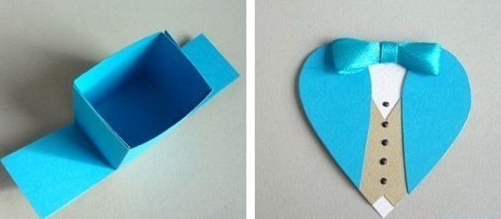 Gentleman Heart. Funny and romantic Valentine's Day idea for him — DIY is FUN