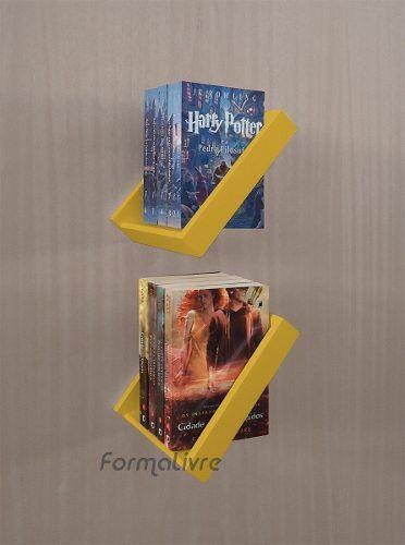 (1) Revisteiro Porta Revista De Parede Decorativo - Amarelo Laca - R$ 228,00 em Mercado Livre