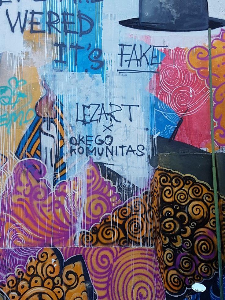 Wall Art Bali - Grafitti