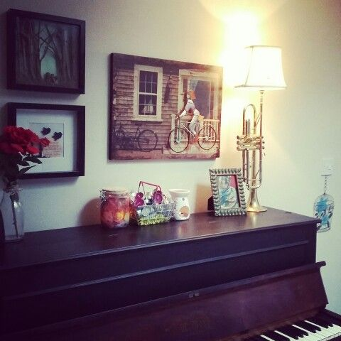 Over piano decor