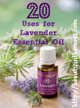 20 Uses for Lavender Essential Oil - www.facebook.com/yleotks to learn even more about essential oils or www.youngliving.com/tsalava to order. #1633853