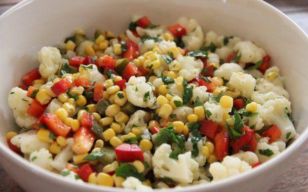 Enfes Karnıbahar Salatası