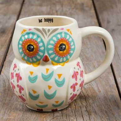 Whoooo doesn't love our owl mugs?? We sure do, so we made some in adorable folk…