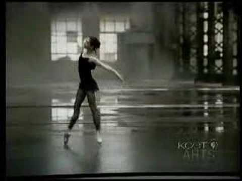 2006 music and dance video with Alessandra Ferri (Italian ballet dancer who retired in 2007 at age 44) and Sting, on classical guitar (Prelude from Bach's 'Cello Suite No.1 in G Major'). I <3 the physical and mental preparations as much as the performances.