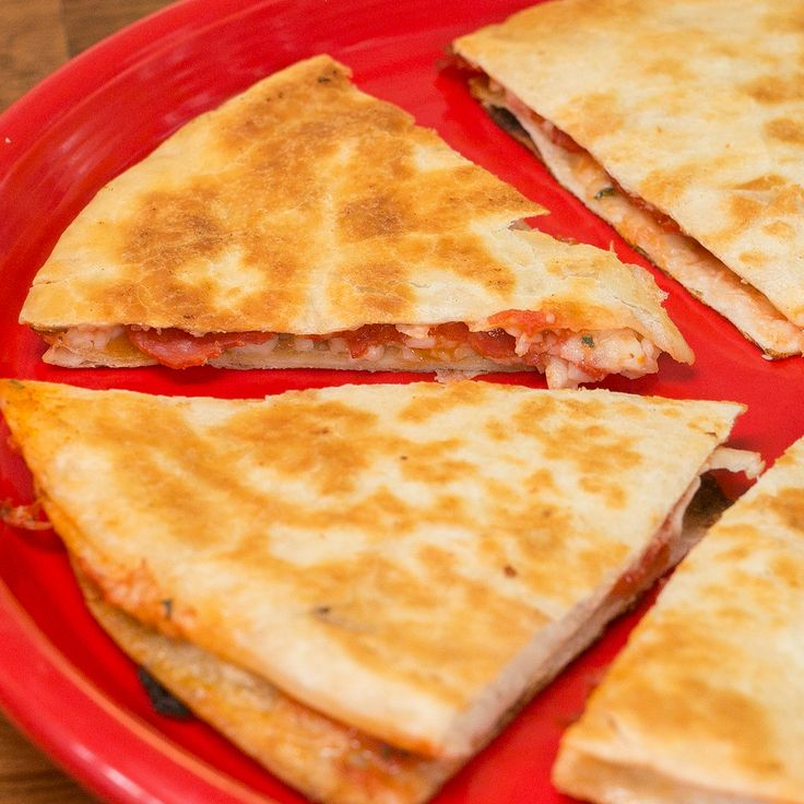 Meet the Pizzadilla, your new favorite food mashup. Try it with Dutch Farms cheese and butter! ...