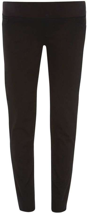 **Maternity Black Underbump jeggings