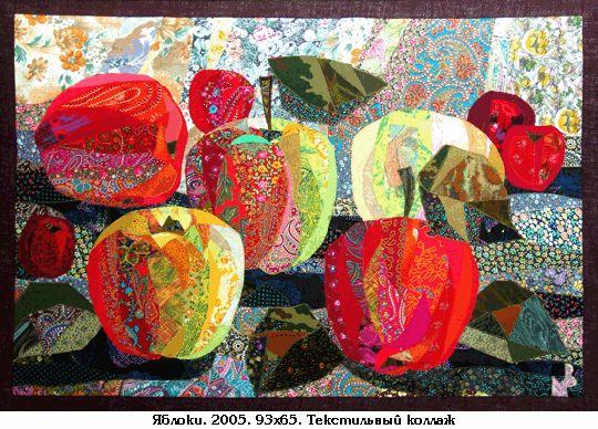 textile art by Valentina Maksimova fabulous quilt!!