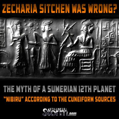 """Zecharia Sitchen Was Wrong? 