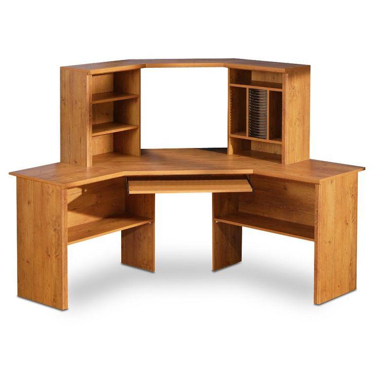 Specifically Made Corner Desks For TV    Http://theinterioridea.com/specifically · Wooden Corner DeskShelf ...