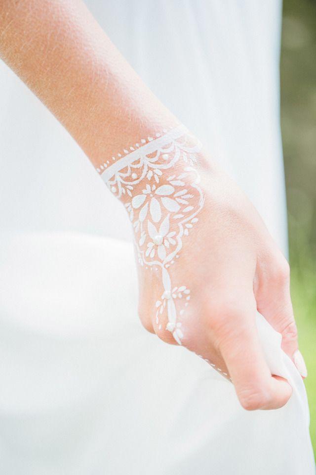 Supermooi witte henna!