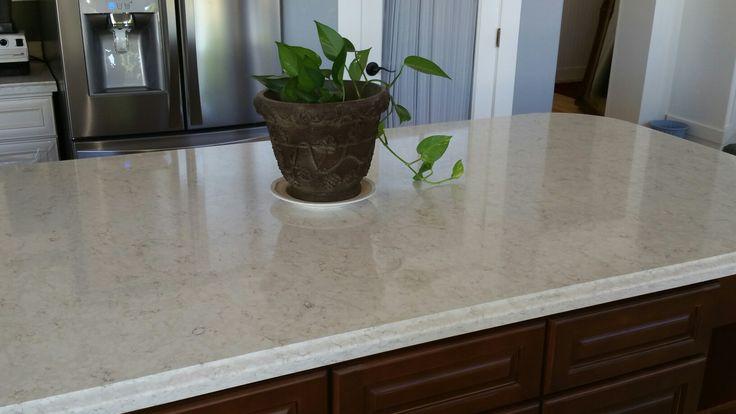 Marble Look In Quartz Lusso Silestone Kitchen