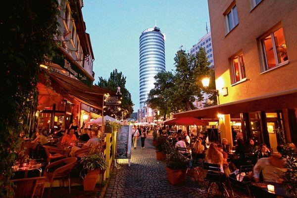 Intershop Tower, Jena Thüringen, Wagnergasse #germany #thuringia #wagnergasse