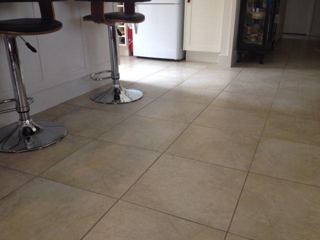 Floor: Sorrento Beige Matt 300 x 300mm