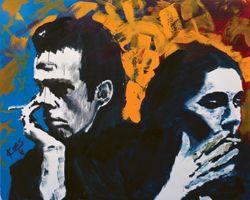 What Next (Nick Cave) (ART ID# 7574) By Koos De Wet