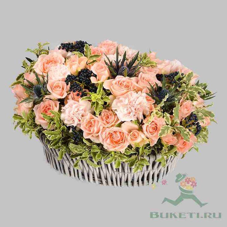 Сплетение роз - круглосуточная доставка цветов на заказ от Букеты.ру