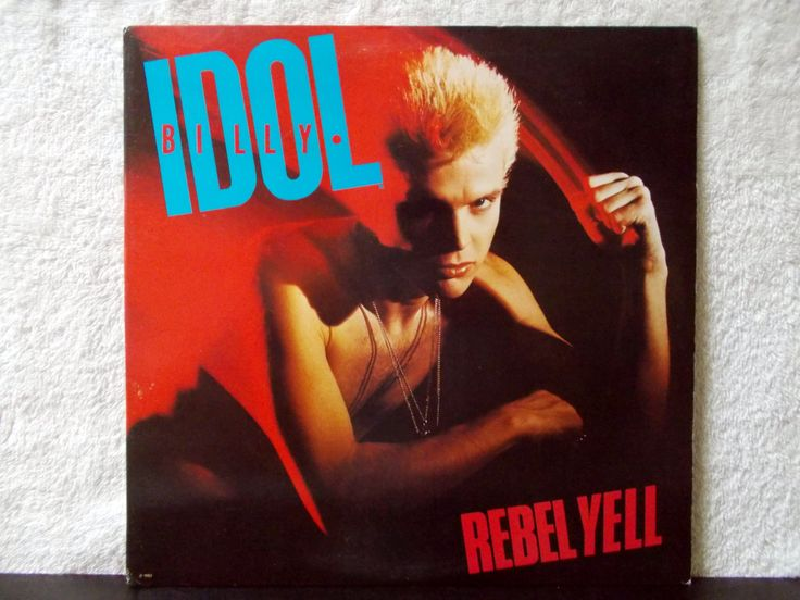 Billy Idol- Rebel Yell. Near Mint -. Original 1983 vinyl LP 33 w/ photo sleeve. Eyes Without a Face, Rebel Yell, Flesh For Fantasy... by AbqArtistry on Etsy