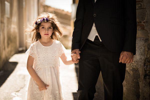 Wedding story of July 2 by Rosita Lipari from Castiglione di Sicilia, Italy