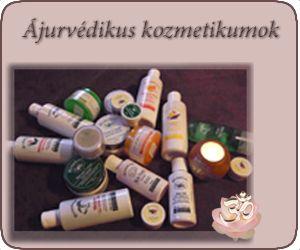 Ájurvédikus kozmetikumok, tartósítószer mentes