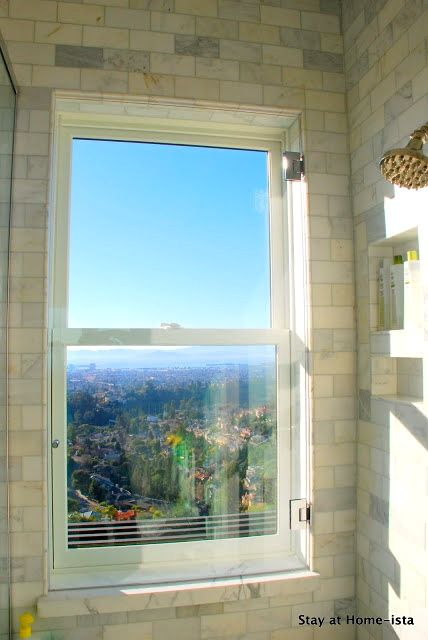 Bathroom Windows Over Shower 67 best in front of a window images on pinterest | home