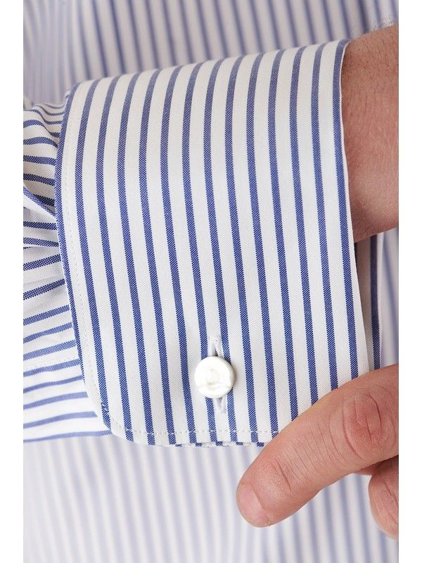 Càrrel striped shirt Double cuffs