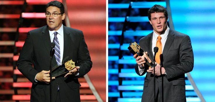 from Carolina Panthers ICYMI, Ron Rivera was named Coach of the Year and Luke Kuechly was named Defensive Player of the Year by the Associated Press last night.