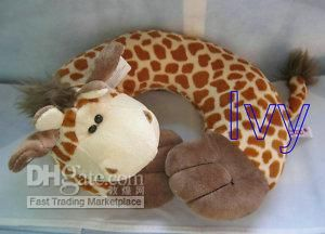 Giraffe neck pillow. I found one of these while in Texas, I wanted it!