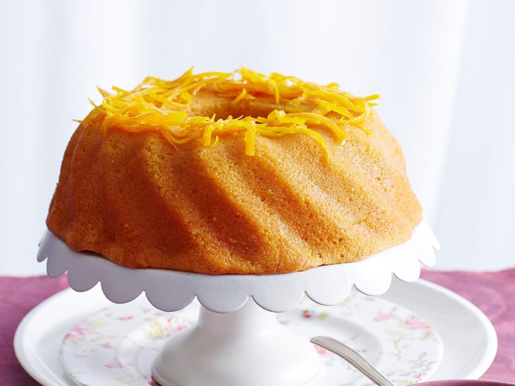Orange buttermilk syrup cake, orange recipe, brought to you by Australian Women's Weekly