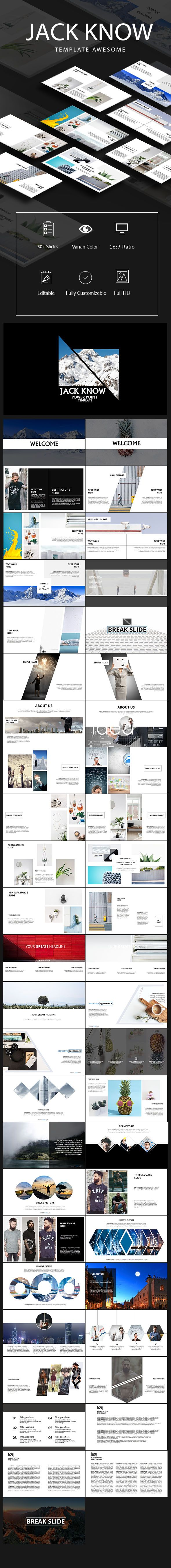 Jack Know PowerPoint Template