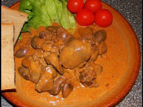 Nejchutnější pikantní kuřecí játra (Spicy chicken livers) - videorecept - YouTube