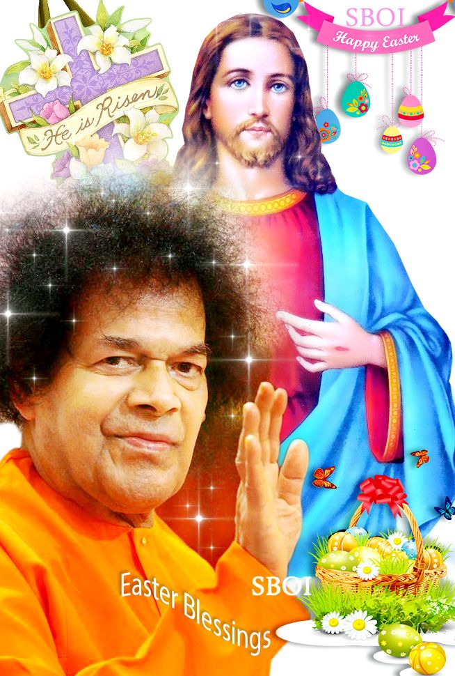 HAPPY EASTER TWO MASTERS, ONE MESSAGE THE TEACHINGS OF