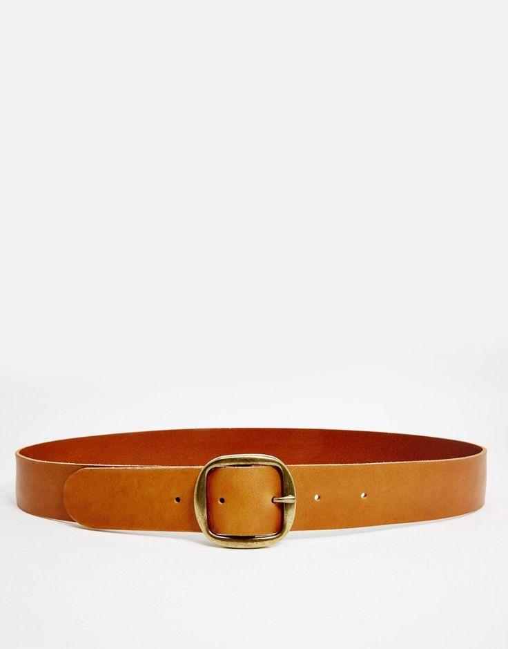 Monki+Clean+Buckle+Jean+Belt