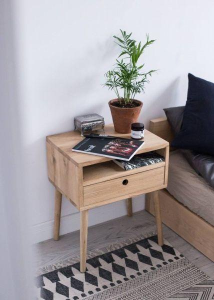 Nattbord med skuff | håndlaget - Nova Design