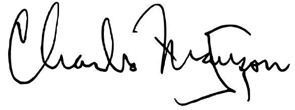 Charles Manson signature