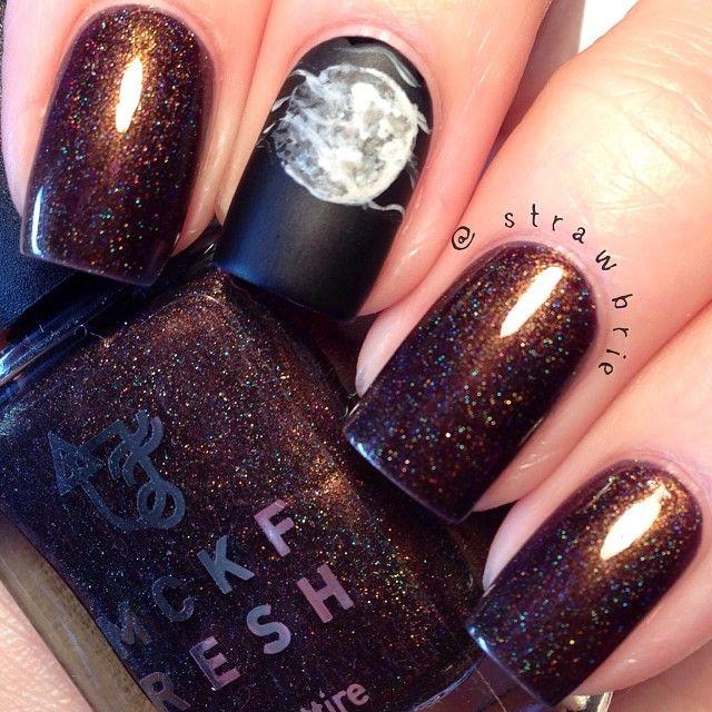 Full Moon Nails