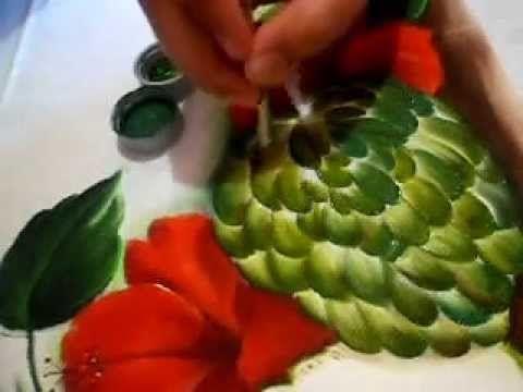 veja como pintar uma pinha. (fruta do conde) - YouTube