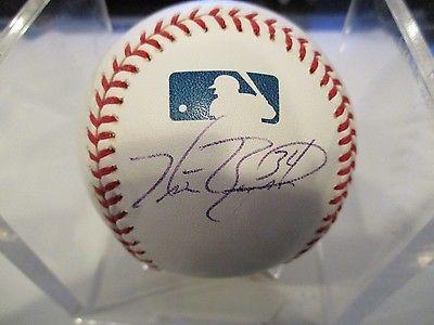 Signed Kris Benson Auto Major League Baseball W/ COA
