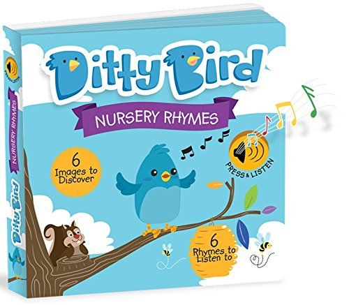 Our Best Interactive Musical Nursery Rhymes Book For Babies Music Singing Push On Board