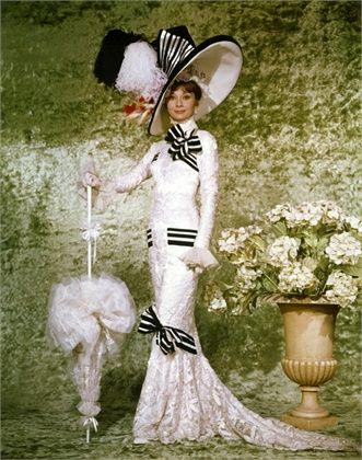 Audrey Hepburn, 1964 On the set of My Fair Lady © Corbis