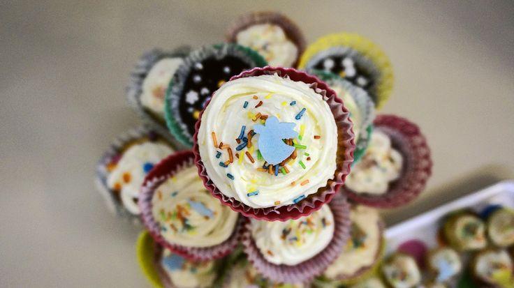 Cupcake with an angel:)